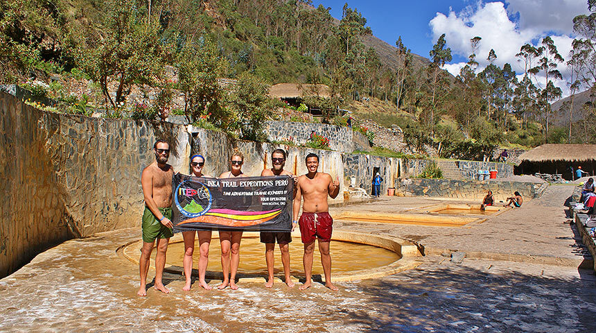 the hot springs of Lares